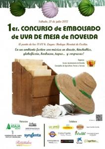 Ayuntamiento de Novelda CARTEL-EMBOLSADO-DE-LA-UVA-1-212x300 1er concurso de embolsado de uva de mesa de Novelda