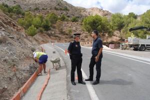 Ayuntamiento de Novelda castillo-300x201 Diputación acondiciona un tramo del andén en la carretera del cerro de La Mola