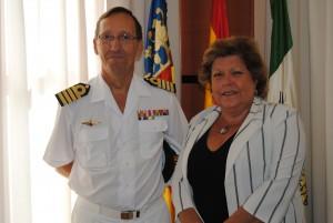 Ayuntamiento de Novelda DSC_0611-300x201 La alcaldesa se reúne con el nuevo comandante naval de Alicante