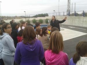 Ayuntamiento de Novelda 2012-11-09-10.11.57-300x225 Medio centenar de escolares visitan el Ecoparque dentro del programa de educación ambiental dirigido a colegios