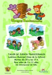 Ayuntamiento de Novelda CARTEL-JUEGOS-TRADICIONALES-LUDOTECA-JPEG-209x300 Taller de juegos tradicionales en la Ludoteca Municipal (Casa de Cultura)