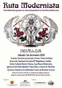 Ayuntamiento de Novelda ruta-modernista-diciembre-212x300 Turismo organiza una nueva Ruta Modernista guiada y teatralizada ante la gran demanda de solicitudes