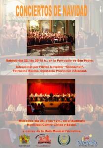 Ayuntamiento de Novelda CARTEL-CONCIERTO-DE-NAVIDAD-JPEG-209x300 Concierto de Navidad, en el Auditorio Municipal Centro Cívico y Social.