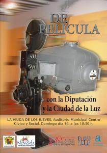 """Ayuntamiento de Novelda CARTEL-PELICULA-16-12-2012-JPEG-210x300 Película: """"La viuda de los jueves"""", en el Auditorio Municipal Centro Cívico y Social."""