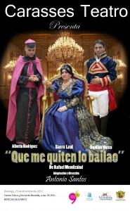 """Ayuntamiento de Novelda CARTEL-TEATRO-23-12-2012-JPEG-185x300 Teatro: """"Que me quiten lo bailao"""" en el Auditorio Municipal Centro Cívico y Social."""