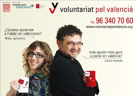 Ayuntamiento de Novelda cartell_A3_VV_BCOLOR_00 Programa Voluntariat pel Valencià 2013