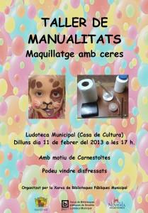 Ayuntamiento de Novelda 11-02-2013-TALLER-DE-MANUALIDADES-JPEG-209x300 Taller de maquillaje con ceras, en la Ludoteca Pública Municipal (Casa de Cultura).