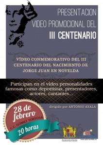 Ayuntamiento de Novelda VIDEO-PROMOCIONAL-JORGE-JUAN-JPEG-212x300 Presentación del vídeo promocional del III Centenario del Nacimiento de Jorge Juan, en el Centro Cultural Gómez-Tortosa.