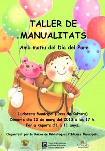 Ayuntamiento de Novelda 12-03-2013-TALLER-DE-MANUALIDADES-JPEG-209x300 Manualidades con motivo del día del padre, en la Ludoteca Pública Municipal (Casa de Cultura).