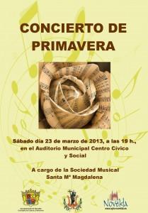 Ayuntamiento de Novelda 23-03-2013-CONCIERTO-PRIMAVERA-JPEG-209x300 Concierto de primavera, a cargo de la Sociedad Musical Santa Mª Magdalena en el Auditorio Municipal Centro Cívico y Social.