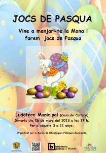 Ayuntamiento de Novelda 26-03-2013-JOCS-DE-PASCUA-JPEG-209x300 Vente a comer la mona y realizaremos  juegos de Pascua, en la Ludoteca Pública Municipal (Casa de Cultura).
