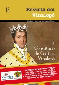 Ayuntamiento de Novelda PORTADA-REVISTA-DEL-VINALOPO-1-209x300 Presentación de la Revista del Vinalopó, núm. 15, en el Centro Cultural Gómez-Tortosa.
