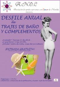 Ayuntamiento de Novelda CARTEL-DESFILE-ANOC-JPEG-209x300 Desfile anual de trajes de  baño y complementos, en el salón de actos de la Casa de Cultura.