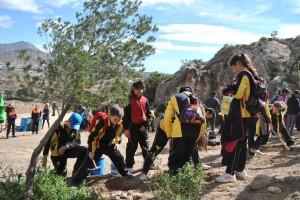 Ayuntamiento de Novelda DSC_0295-300x200 Más de 200 alumnos de primaria participan en la campaña de reforestación en la cantera de la Mola