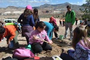 Ayuntamiento de Novelda DSC_0296-300x200 Más de 200 alumnos de primaria participan en la campaña de reforestación en la cantera de la Mola