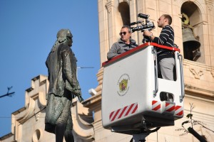 Ayuntamiento de Novelda DSC_2123-300x200 Comienza en Novelda el rodaje del documental sobre la figura de Jorge Juan que se emitirá por TVE