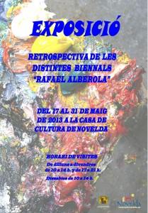 """Ayuntamiento de Novelda 2013-05-17-EXPOSICIO-BIENNAL-JPEG-209x300 Exposición retrospectiva de las distintas Bienales """"Rafael Alberola"""", en la Casa de Cultura."""
