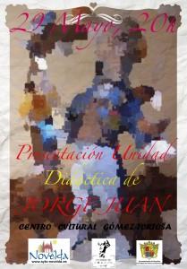 Ayuntamiento de Novelda 2013-05-29-CARTEL-PRESENTACION-UNIDADAD-DIDACTICA-JORGE-JUAN-JPEG2-209x300 Presentación pública de la unidad didáctica para primaria sobre la vida y obra de Jorge Juan y Santacilia, en el Centro Cultural Gómez-Tortosa.