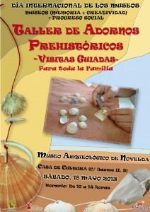 Ayuntamiento de Novelda Cartel7-BResol-212x300 Talleres de adornos prehistóricos, en el Museo Arqueológico (Casa de Cultura).