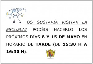 """Ayuntamiento de Novelda Cartel_castellano_jpg-300x207 Jornadas de puertas abiertas, de la Escuela Infantil Municipal """"Ramona Simón"""""""