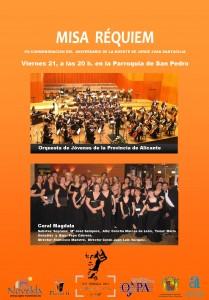 Ayuntamiento de Novelda 2013-06-21CARTEL-MISA-REQUIEM-JPEG-209x300 Misa Réquiem, en conmemoración del aniversario de la muerte de Jorge Juan Santacilia, en la Parroquia de San Pedro.