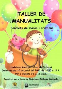 Ayuntamiento de Novelda 2013-07-10-TALLER-DE-MANUALIDADES-209x300 Taller de farolillos de moros y cristianos,  en la Ludoteca Municipal.