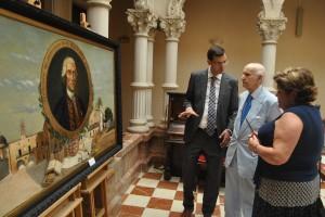 Ayuntamiento de Novelda DSC_0702-300x200 El presidente del Consell Valencià de Cultura y la alcaldesa descubren una placa en homenaje a Jorge Juan