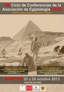 Ayuntamiento de Novelda 2013-10-25-CARTEL-CONFERENCIA-EGIPTOLOGIA-JPEG-209x300 Conferencia de Egiptología,  en la Casa de Cultura.