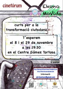 Ayuntamiento de Novelda foto-cartell-curts-ekonomovida-212x300 Cinefórum EkonoMoVida. Cortos para la transformación ciudadana, en el Centro Cultural Gómez-Tortosa.