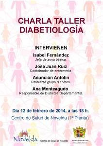 Ayuntamiento de Novelda 2014-02-12-CARTEL-CHARLA-DIABETIOLOGIA-212x300 Charla Taller  Diabetiología, en el Centro de Salud de Novelda.