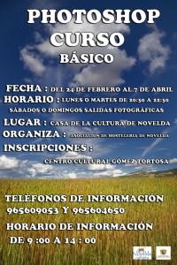 Ayuntamiento de Novelda CARTEL-CURSO-FOTOSHOP-RAMIRO-200x300 Inicio del curso de Photoshop, en la Casa de Cultura.