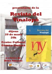 Ayuntamiento de Novelda 2014-212x300 Presentación del nº 16 de la Revista del Vinalopó, en el Centro Cultural Gómez-Tortosa.