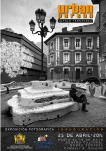 """Ayuntamiento de Novelda 2014-04-25-CARTEL-URBAN-PERSON-212x300 Exposición fotográfica """"Urban Person"""" de Juanjo Fernández, en el Centro Cultural Gómez-Tortosa."""