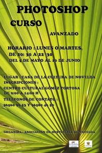 Ayuntamiento de Novelda 2014-05-05-CARTEL-CURSO-FHOTOSHOP-200x300 Inicio del curso de Photoshop, en la Casa de Cultura.