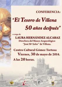 """Ayuntamiento de Novelda 2014-05-30-CONFERENCIA-EL-TESORO-DE-VILLENA-212x300 Conferencia """"El Tesoro de Villena 50 años después."""" en el Centro Cultural Gómez-Tortosa."""