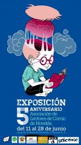 Ayuntamiento de Novelda 2014-06-11-CARTEL-EXPOSICION-COMIC-168x300 Exposición de cómics, en conmemoración del 5º aniversario de la Asociación del Cómic de Novelda, en la Casa de Cultura.