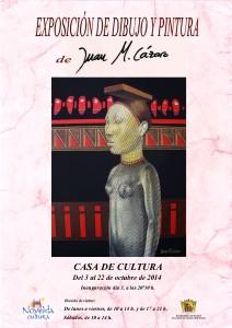 Ayuntamiento de Novelda 2014-10-03-CARTEL-EXPOSICION-DE-PINTURA-212x300 Exposición de dibujos  y  pinturas de Juan Martínez Lázaro, en la Casa de Cultura.