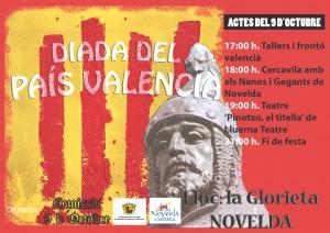 Ayuntamiento de Novelda 2014-10-09-CARTEL-9-DE-OCTUBRE-300x212 Conmemoración del 9 d'Octubre, en la Glorieta.