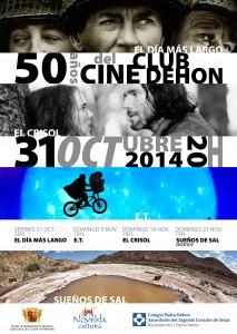 """Ayuntamiento de Novelda cartel-cine-dehon-213x300 Ciclo """"50 años del cine Club Dehon"""" con la  proyección del avance del cortometraje """"Sueños de sal"""",  en el antiguo Cine Club Dehon."""