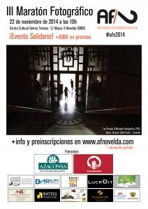 Ayuntamiento de Novelda 2014-11-22-Cartel-III-maraton-AFN2014-212x300 III Maratón fotográfico, en el Centro Cultural Gómez-Tortosa.