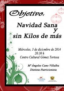 Ayuntamiento de Novelda 2014-12-03-CHARLA-NUTRICION-NAVIDAD-212x300 Charla de Nutrición, en el Centro Cultural Gómez-Tortosa.