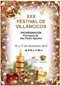 Ayuntamiento de Novelda 2014-12-16-CARTEL-FESTIVAL-DE-VILLANCICOS-20141-212x300 XXX Festival de Villancicos, en la Parroquia de San Pedro.