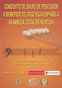 Ayuntamiento de Novelda 2014-12-27-CONCIERTO-DE-PERCUSION-212x300 Concierto de grupo de percusión, en el Auditorio Municipal.