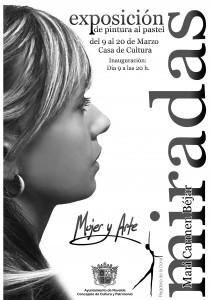 """Ayuntamiento de Novelda 2015-03-09-EXPO-PINTURA-MIRADAS-212x300 Inauguración de la exposición de pintura al pastel """"Miradas. Mujer y arte"""", en la Casa de Cultura."""