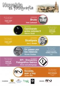 """Ayuntamiento de Novelda 2015-03-13-CARTEL-NOVELDA-ES-FOTOGRAFIA-211x300 Ciclo de exposiciones. Novelda es fotografía: """"Camino entre colores II"""", en la Casa de Cultura."""