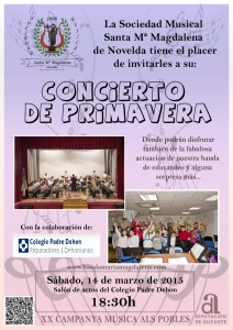 Ayuntamiento de Novelda 2015-03-14-CONCIERTO-MAGDALENA-EN-LOS-PADRES-212x300 Concierto de primavera, en el salón de actos de Colegio Padre Dehon.
