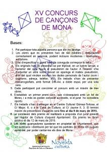 Ayuntamiento de Novelda basses-concurso-cancons-de-mona-212x300 XV Concurso de Cançons de Mona: entrega de premios.