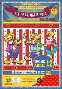 Ayuntamiento de Novelda 2015-04-12-PAYASOS-PISSIGALLA-212x300 Evento Solidario. Día de la nariz Roja,  en la Glorieta.