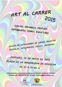 """Ayuntamiento de Novelda 2015-05-10-CAR-CAS-ART-AL-CARRER-212x300 Art al Carrer """"Dibujo, cerámica, pintura, fotografía, cómic, escultura..."""" , en la Plaza de la Magdalena."""