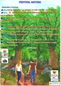 """Ayuntamiento de Novelda 2015-06-05-CARTEL-FESTIVAL-NATURA-212x300 Proyección del documental """"El arte del aire"""" y  coloquio, en la Casa Museo Modernista."""